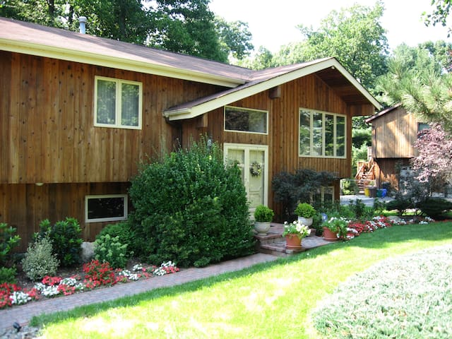 Beautiful contemporary 2600 Sq ft wooded deck BQ - Spring Valley - Casa