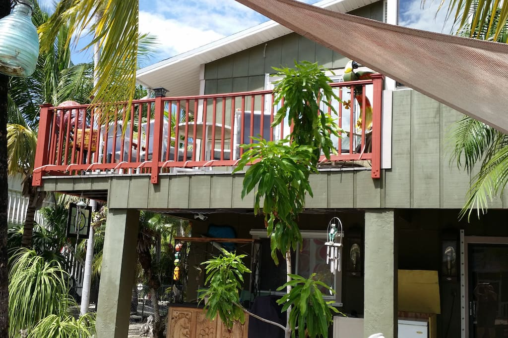 Enjoy the Sun upstairs deck or relax in shade on lower deck.
