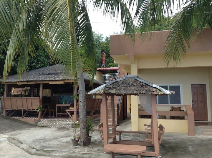 Borawan View, 2-3 ppl, addtl person P200, Room S3