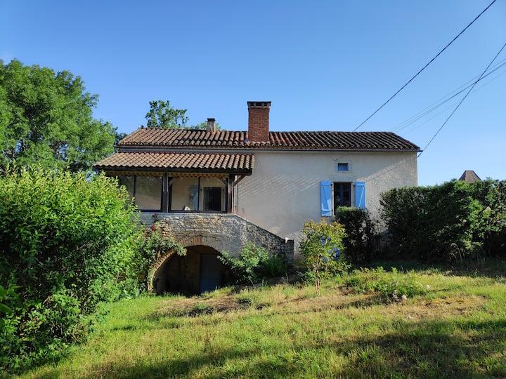 Maison en pierre proche Cahors