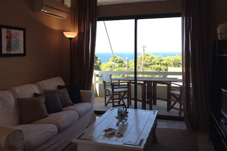 Beautiful apartment with stunning sea view - Rafina