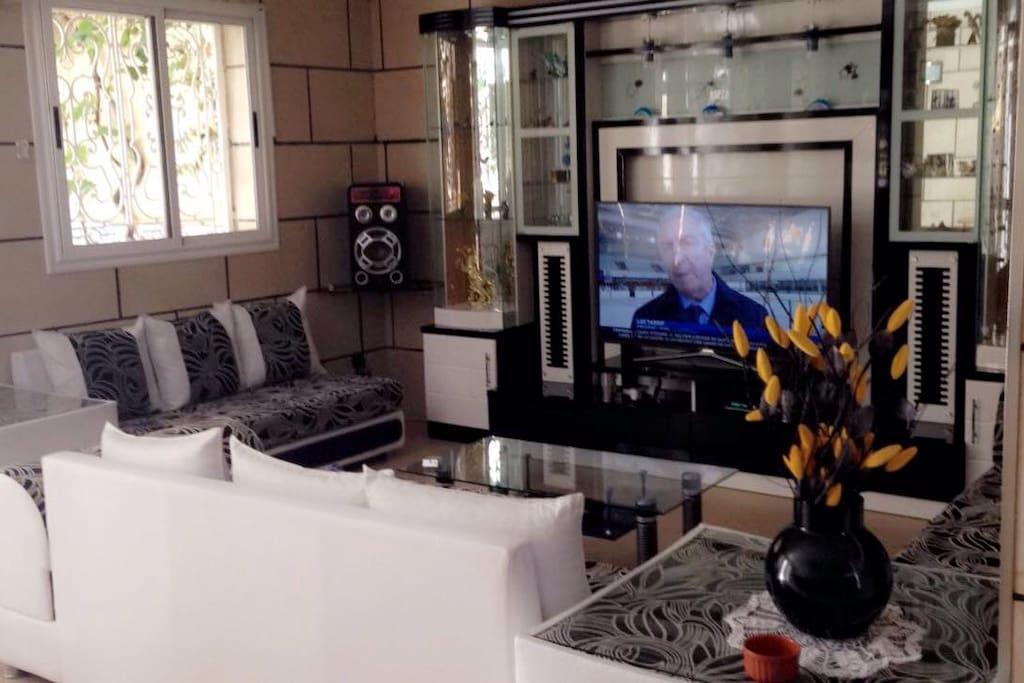 Un salon privé