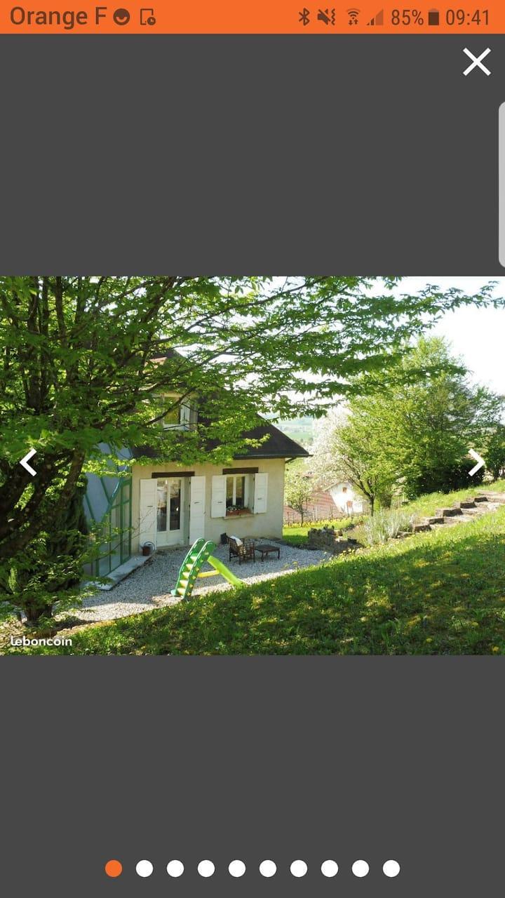 Villa avec piscine sur les hauteurs d'Arbois