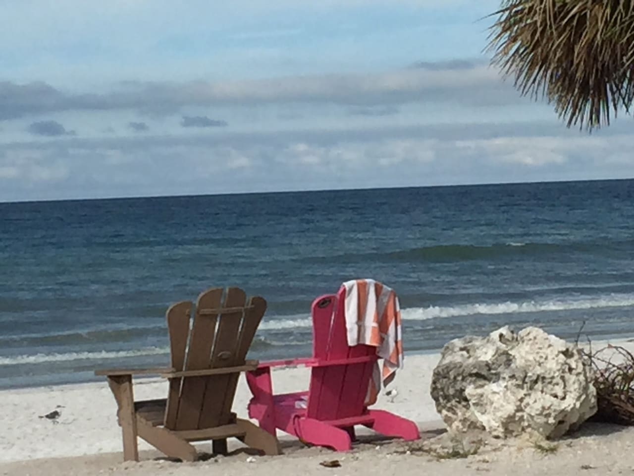 Imagine me and you, and you and me!... enjoying the sun, sand and surf of Pass-a-grille Beach