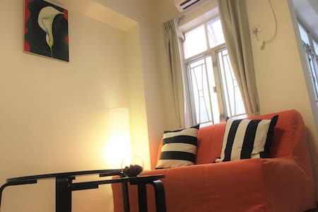 (B)New! 2BR! Heart of Tsim Sha Tsui ! 2 mins MTR! - Hong Kong - Apartment