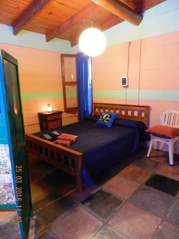 Espacio Dormitorio Cabaña Luna