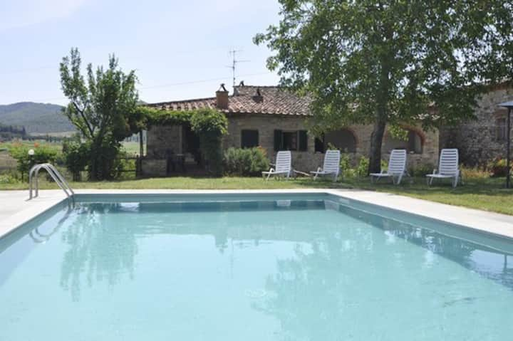 Scerfio - Holiday Country House with swimming pool in Pergine Valdarno, Tuscany