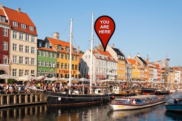 Authentic Danish Apartment in Prime Location