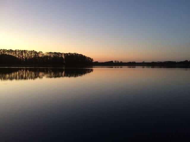Ferienbungalow im Havelland am Netzener See