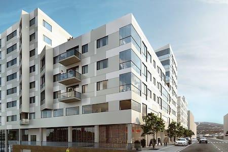 Ny leilighet midt i sentrum med gode fasiliteter.