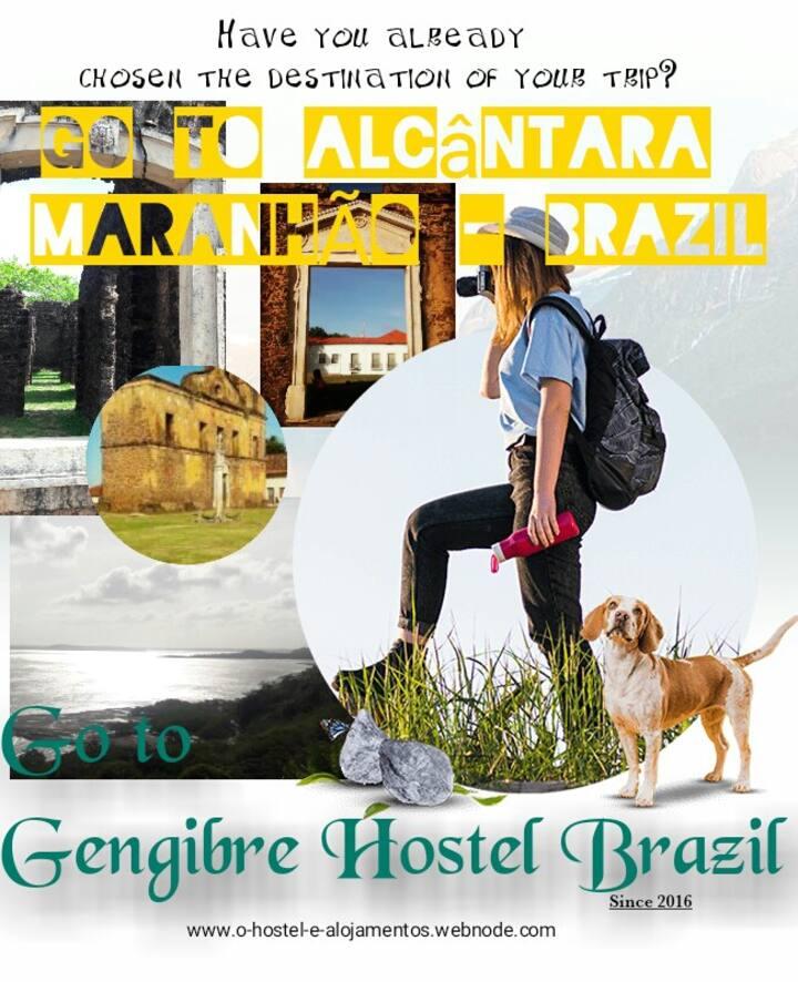 GENGIBRE HOSTEL ALCÂNTARA BRAZIL