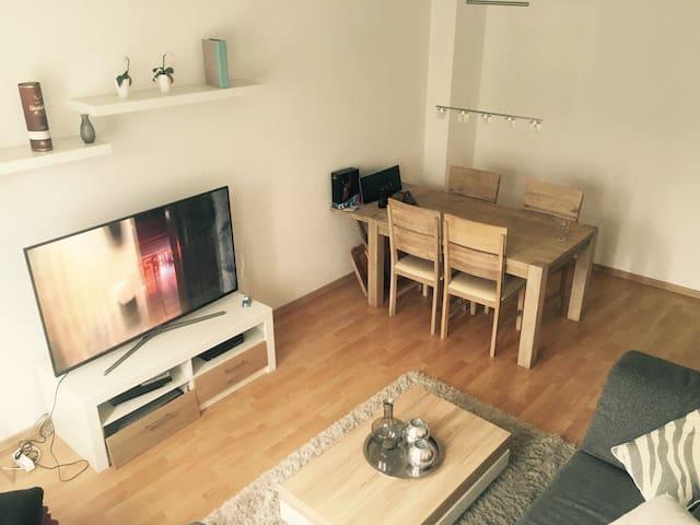 Zentrale gepflegte Wohnung. MESSE nah - Düsseldorf - Apartment