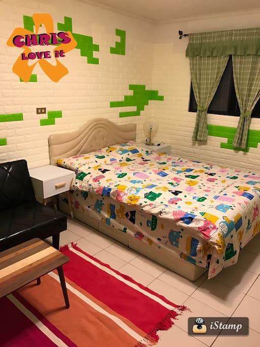 雙人獨立筒床墊Double  mattress