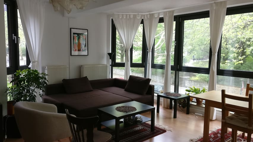 A big bright room in Charlottenburg