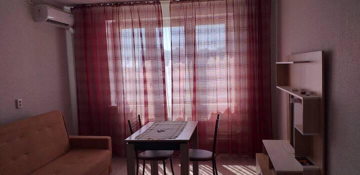 Уютная квартира с видом на море.