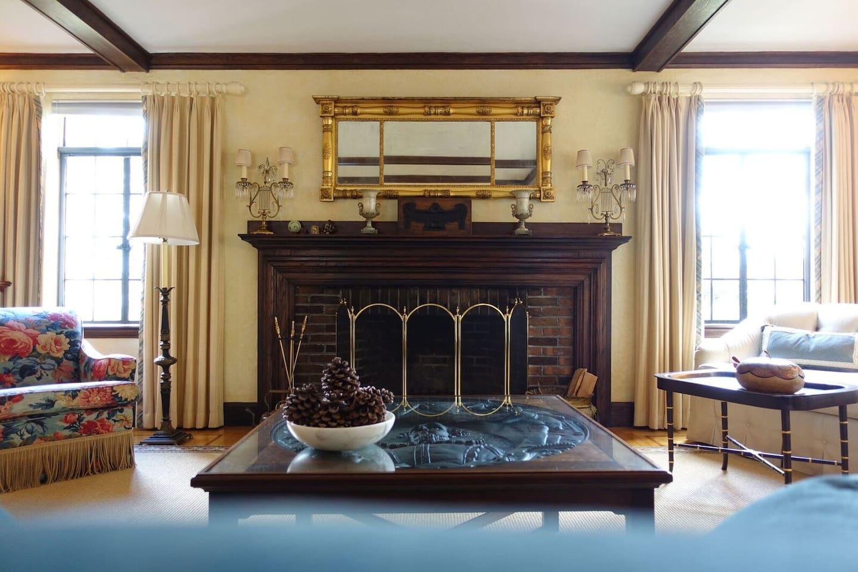 elegant tudor home close to boston houses for rent in newton