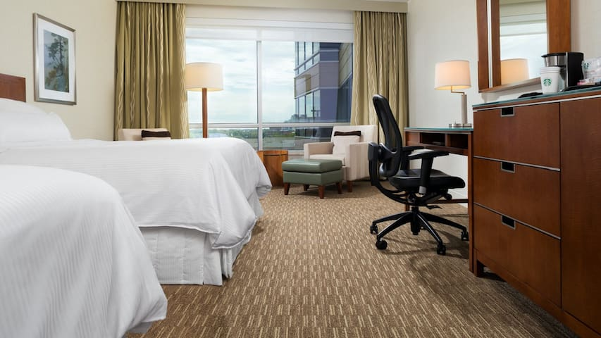 Westin Edina Galleria rooms for Super Bowl weekend