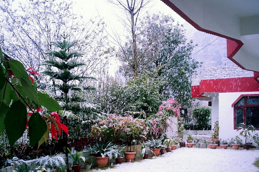 A bit higher in altitude than the town of Solan, the place is blessed with flakes of snow in cold winters.