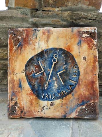 Our logo of IRIS VILLA