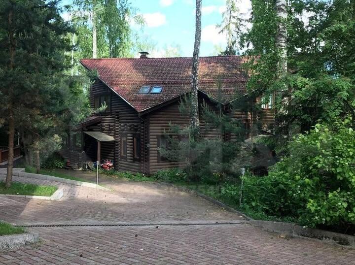 Деревянный Дом на Воде,в сосновом Лесу. 1-я Линия