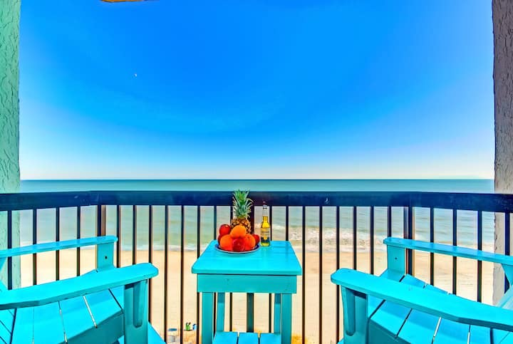 DIRECT END CORNER CONDO/KING/OCEANFRONT/23 POOLS