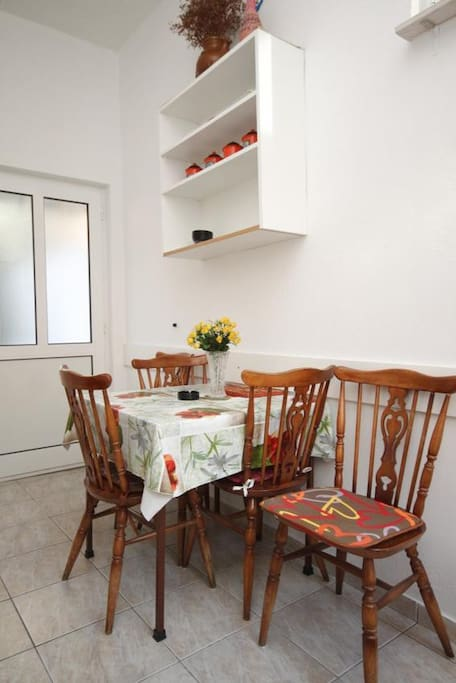 Dining room, Surface: 6 m²