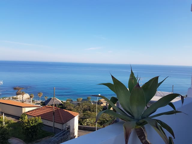 Double room sea view 2mins beach - Tropea - Overig