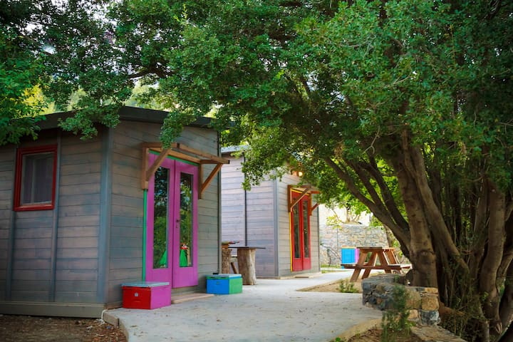 Wooden Bungalow Camping - Pezoulia Selakano Crete