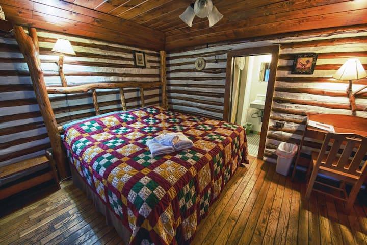 Asheville Historic Log Cabin (3) Snuggle Inn - Asheville - Blockhütte