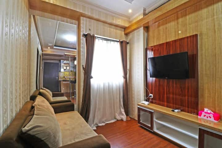 Two-Bedroom Apartment at The Suites Metro Bandung
