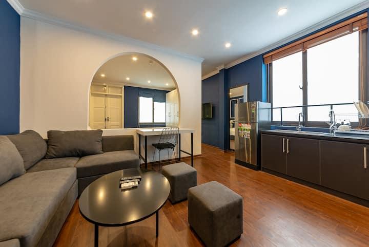 ⭐Neoclassical Room-LuxuryServicedApartment/Balcony