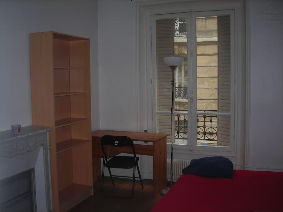 Deuxième chambre privée et spacieuse