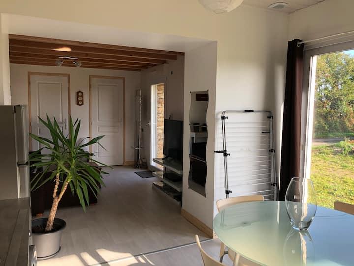 location appartement au calme proche concarneau