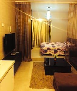 博士后实木单身公寓套房 - Fuzhou - Lägenhet