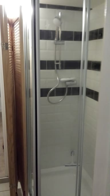 HOT WATER ON DEMAND SHOWER