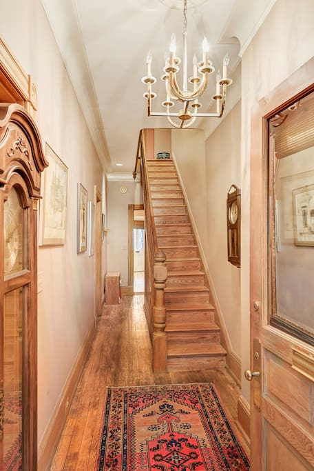 Feel surrounded by history when you enter the home!