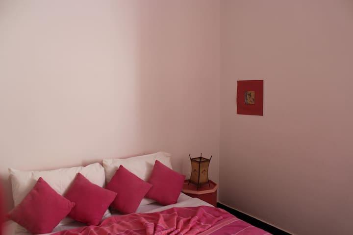 Chambre privée avec terrasse à l'étage