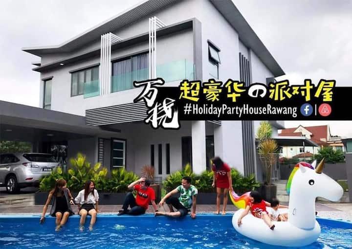 Rawang Holiday Homestay Villa.