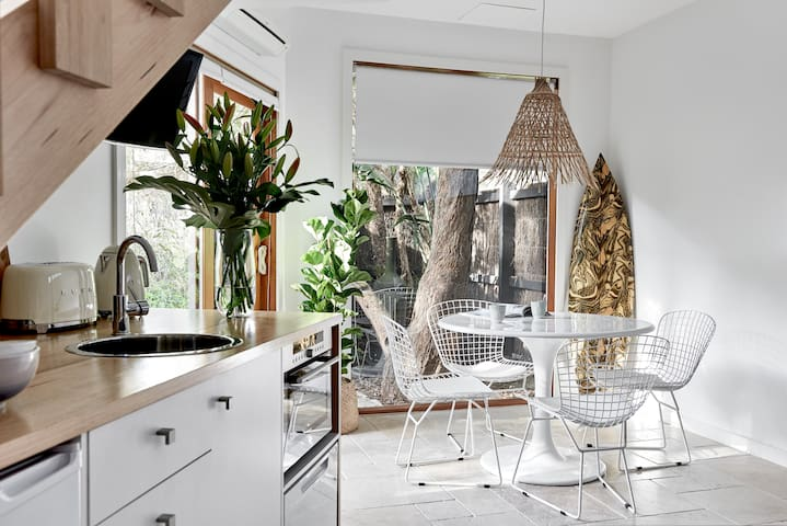 Light filled Dining and Kitchenette