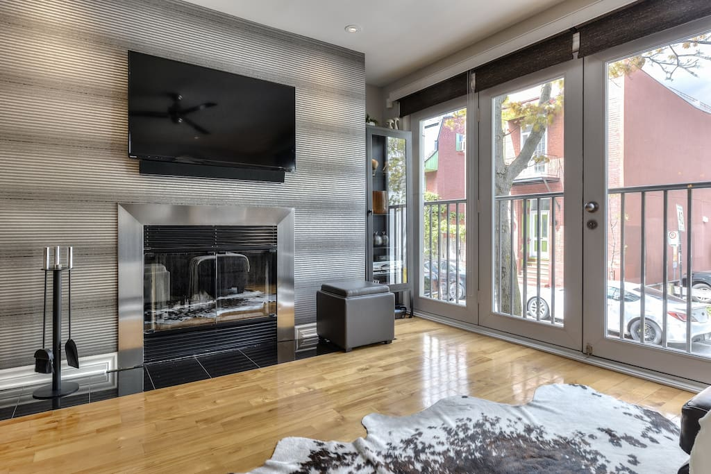 Fireplace With Smart TV