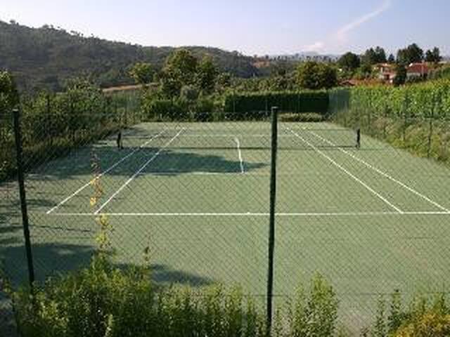 Court de ténis.