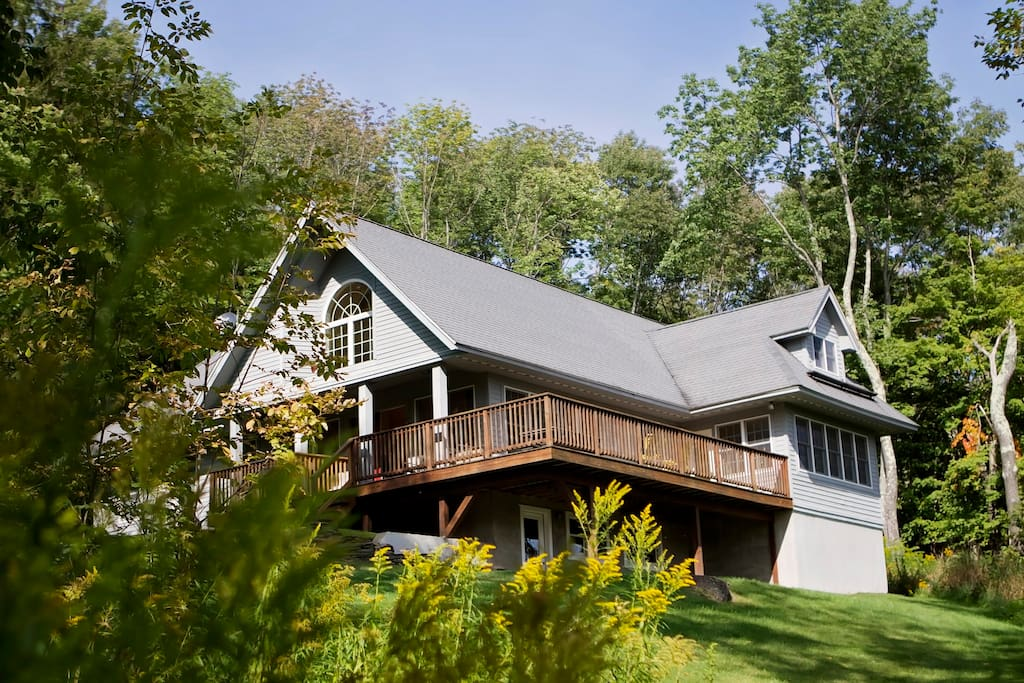 Immaculate and spacious 2400sf cottage in the woods.