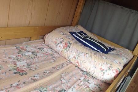 (冬)2段ベッド布団・枕