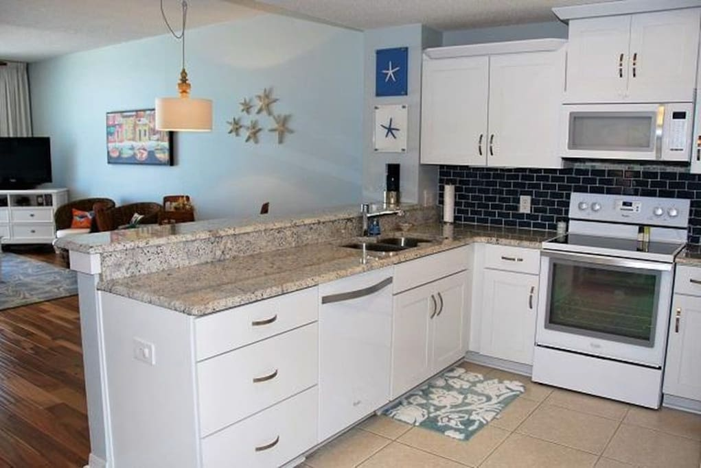 Kitchen with all new top of the line appliances