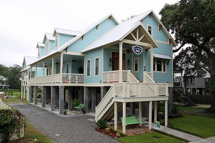 de la Bleau B&B - Old Mandeville Charm on the Lake - Mandeville - Bed & Breakfast