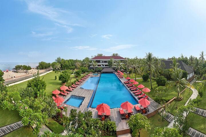 Grand ocean view suite in Gil Trawangan - Pemenang - Apartament