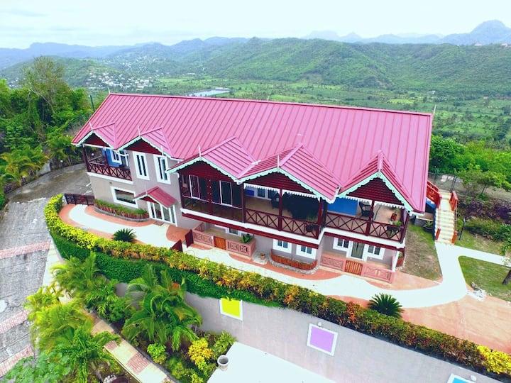The Elegant Marigot Grande Villa