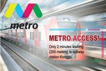 Only 10 minutes to subway station Xatai  Всего 10 минут до станции метро Xatai