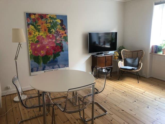 Light and cozy Copenhagen apartment with balcony