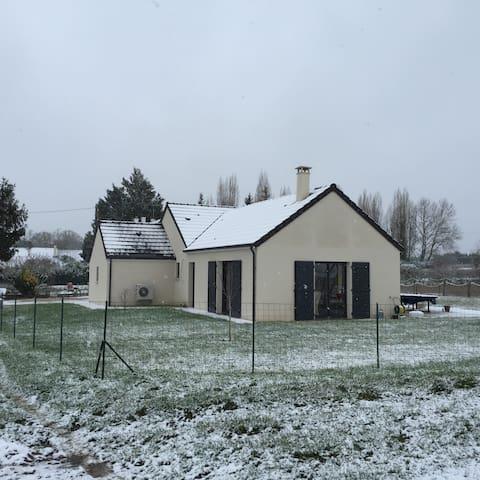 Maison 4 chambres à la campagne - Fougères-sur-Bièvre